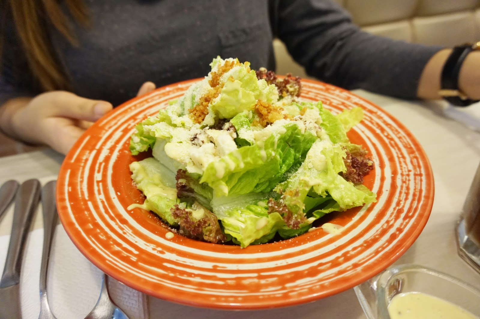 my little buttercup bakery and cafe's ceasar salad
