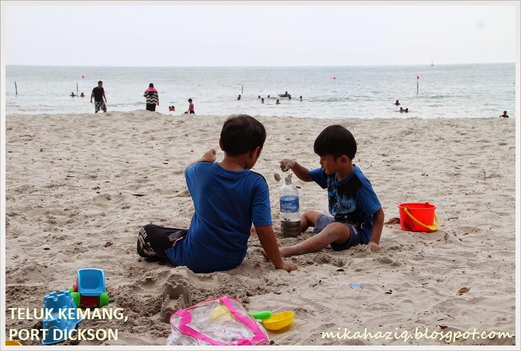teluk kemang port dickson public beach