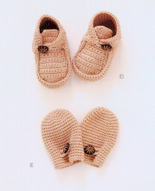 Вяжем варежки для новорожденного