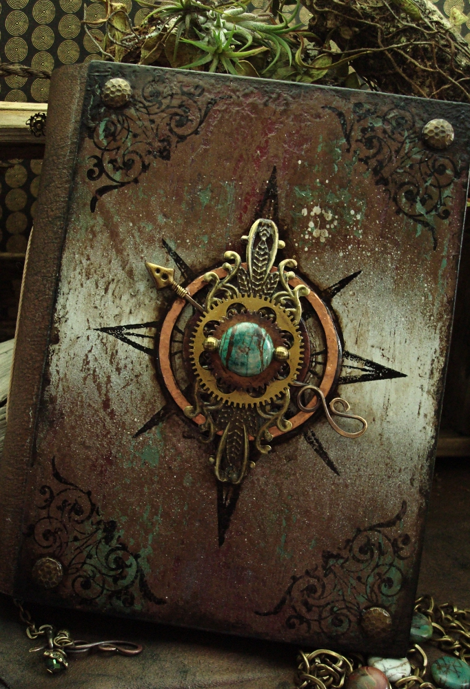 Diy Fantasy Book Cover : Altered alchemy gallery handmade journals