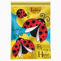 fly away home ladybug decorative house flag