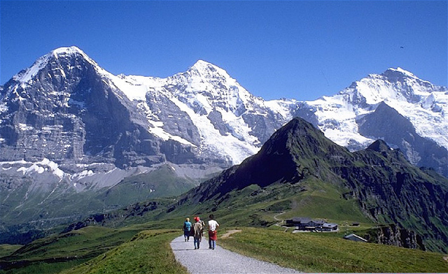 World Visit: The Swiss Alps