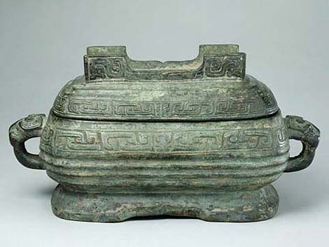 Chinese bronze xu