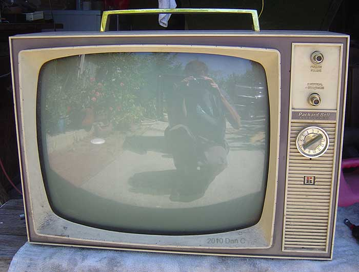 Historys Dumpster Black White Tv