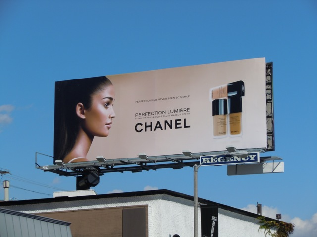 Chanel Makeup billboard