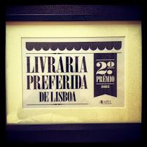 Livraria preferida de Lisboa, 2.º Prémio