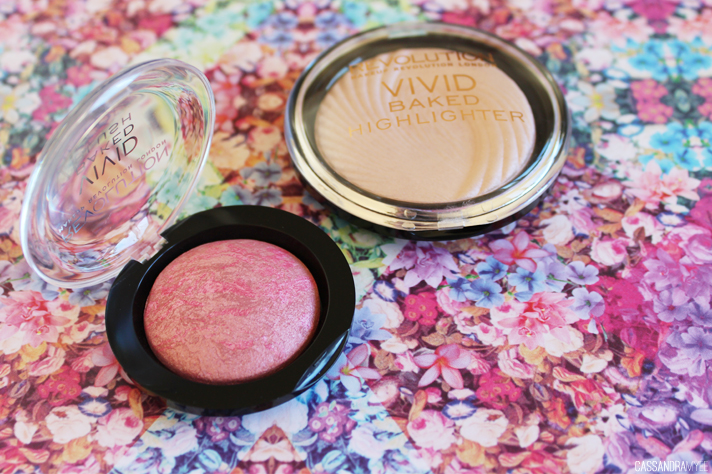 MAKEUP REVOLUTION // Vivid Baked Blush + Highlighter - CassandraMyee