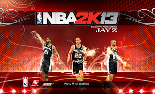 NBA 2K13 San Antonio Spurs Startup Screen Mod
