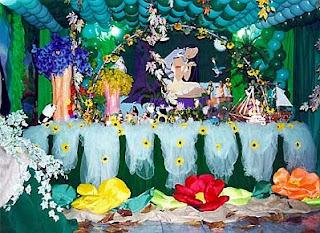Decoracion de Fiestas Infantiles con Pocahontas