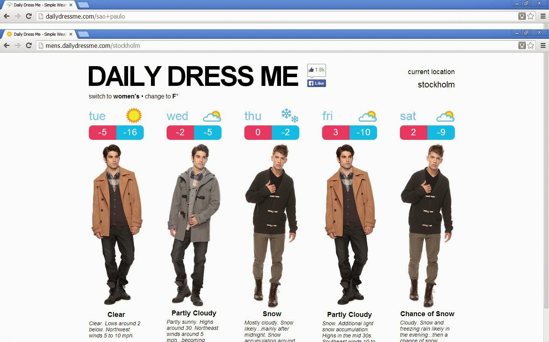 Daily Dress Me
