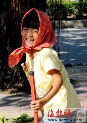 紅頭巾 4歲女童 萌版大S