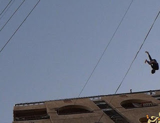 Gay man thrown off building top by ISIS in Iraq in June 2015