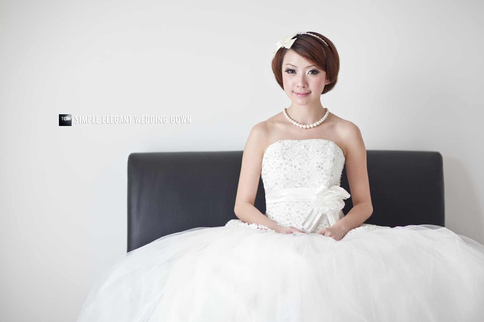 Simple Elegant Wedding Gowns By TCWPHOTOGRAPHY - TCWPHOTOGRAPHY
