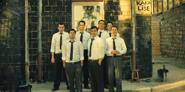 yedi güzel adam dizi, trt 1, kara lise