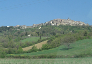 Road trip Italy - countryside in Tuscany