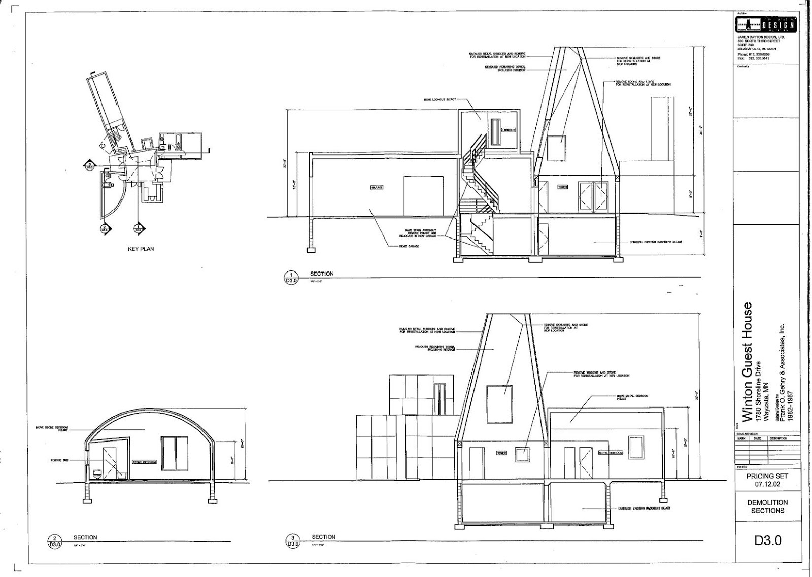Ad classic norton house frank gehry archdaily - Frank Gehry Winton Guest House Owatonna 2815 29 Jpg 1600 1137 Boceto Pinterest Drawing Projects
