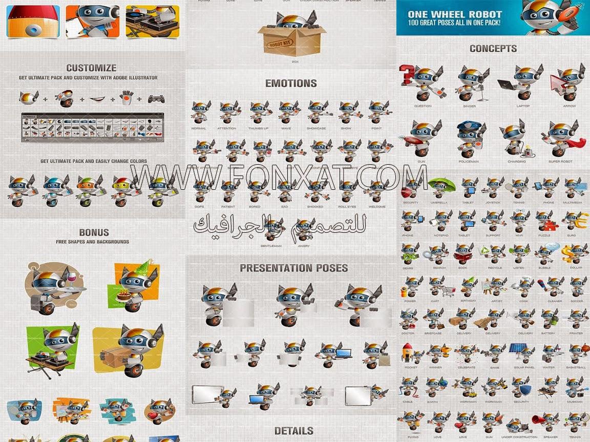الشخصيات الكرتون Cartoon Character