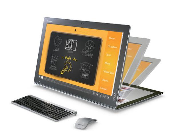 моноблок Yoga Home 900 превращается в планшет