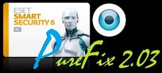 PureFix 2.03 Untuk ESET Smart Security 6 dan NOD32 AntiVirus 6