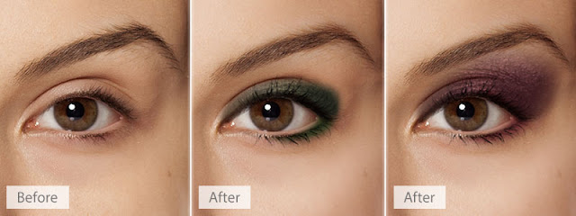 Eye Makeup Photo Editing