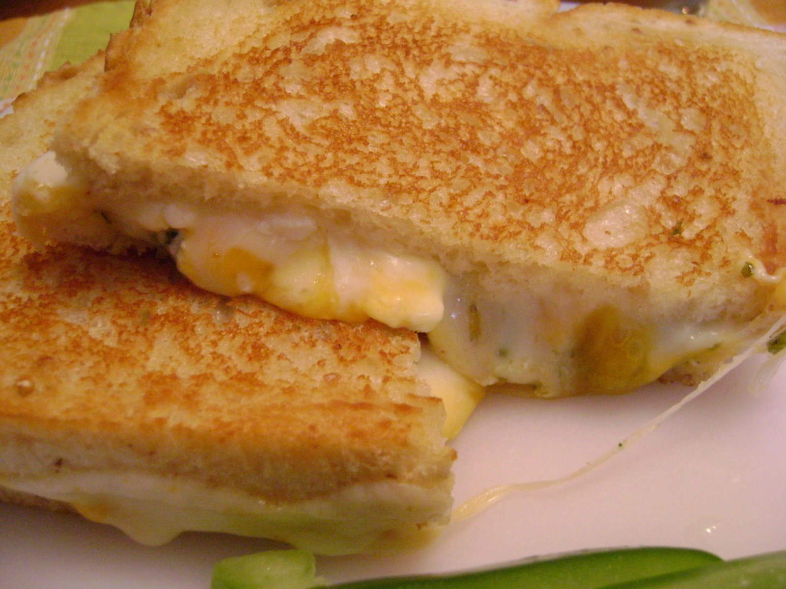 There and Back Again Food: Ultimate Grilled Cheese Sandwich