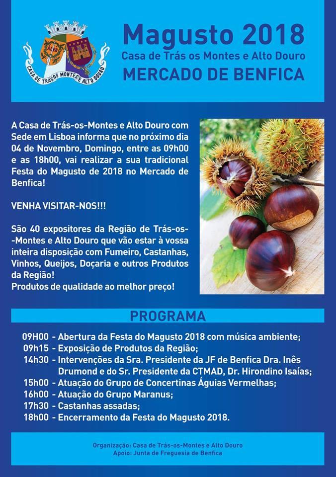 MAGUSTO - 2018 - Casa de Trás-os-Montes e Alto Douro - LISBOA
