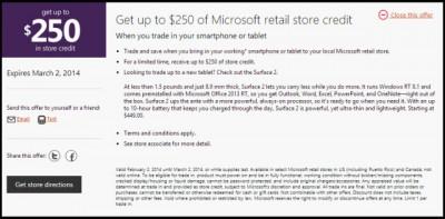 Microsoft Hargai Ponsel dan Tablet Lawas Anda USD $ 250