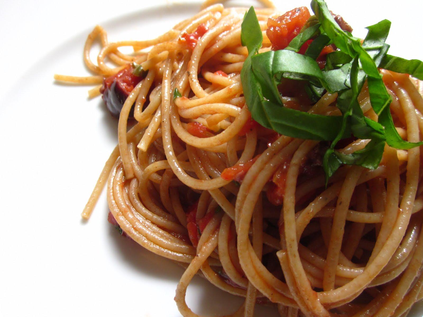 Pastry Prose: Spaghetti alla Puttanesca