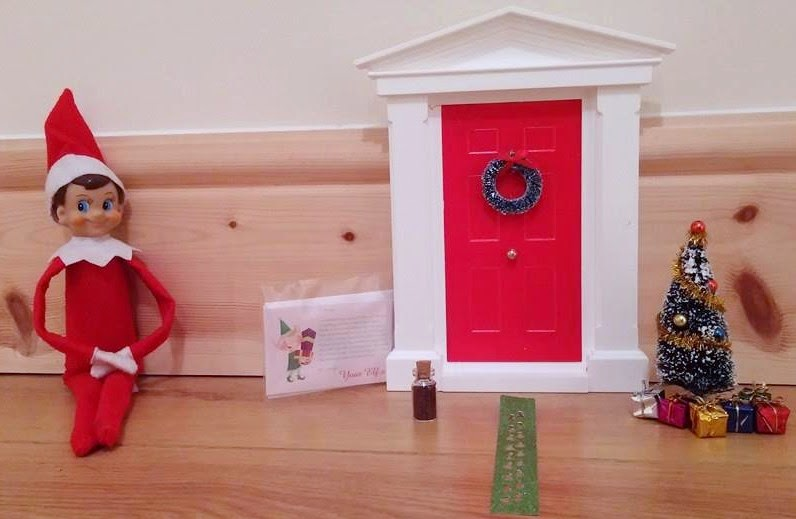 Missing sleep my christmas elf door review for The magic elf door