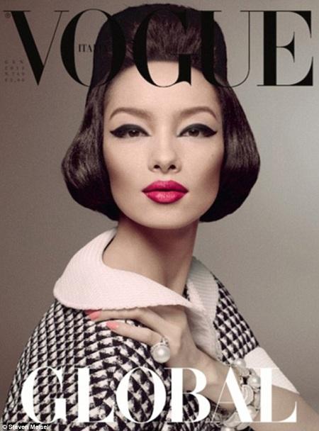 Fei Fei Sun é a primeira modelo chinesa a ser capa da revista Vogue Italia