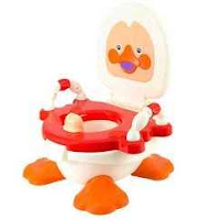 Buy Panda Duck Potty Seat-Red at Rs.284