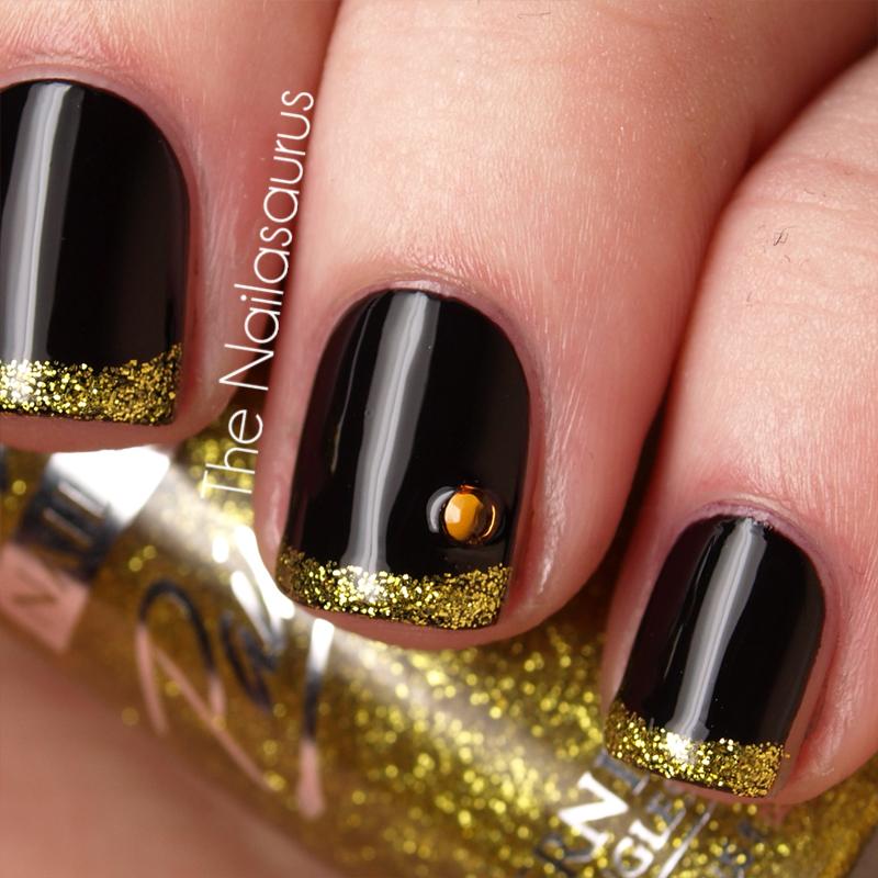 All That Glitters Is Gold - The Nailasaurus | UK Nail Art Blog
