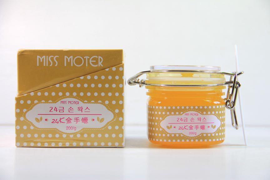 Miss Moter Gold 24K Wax