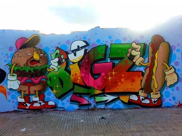 Graffiti Big Z ,  Gerard P de Pingu