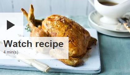 download recipes - roast chicken with gravy