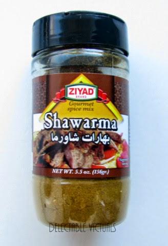 ground turkey shawarma