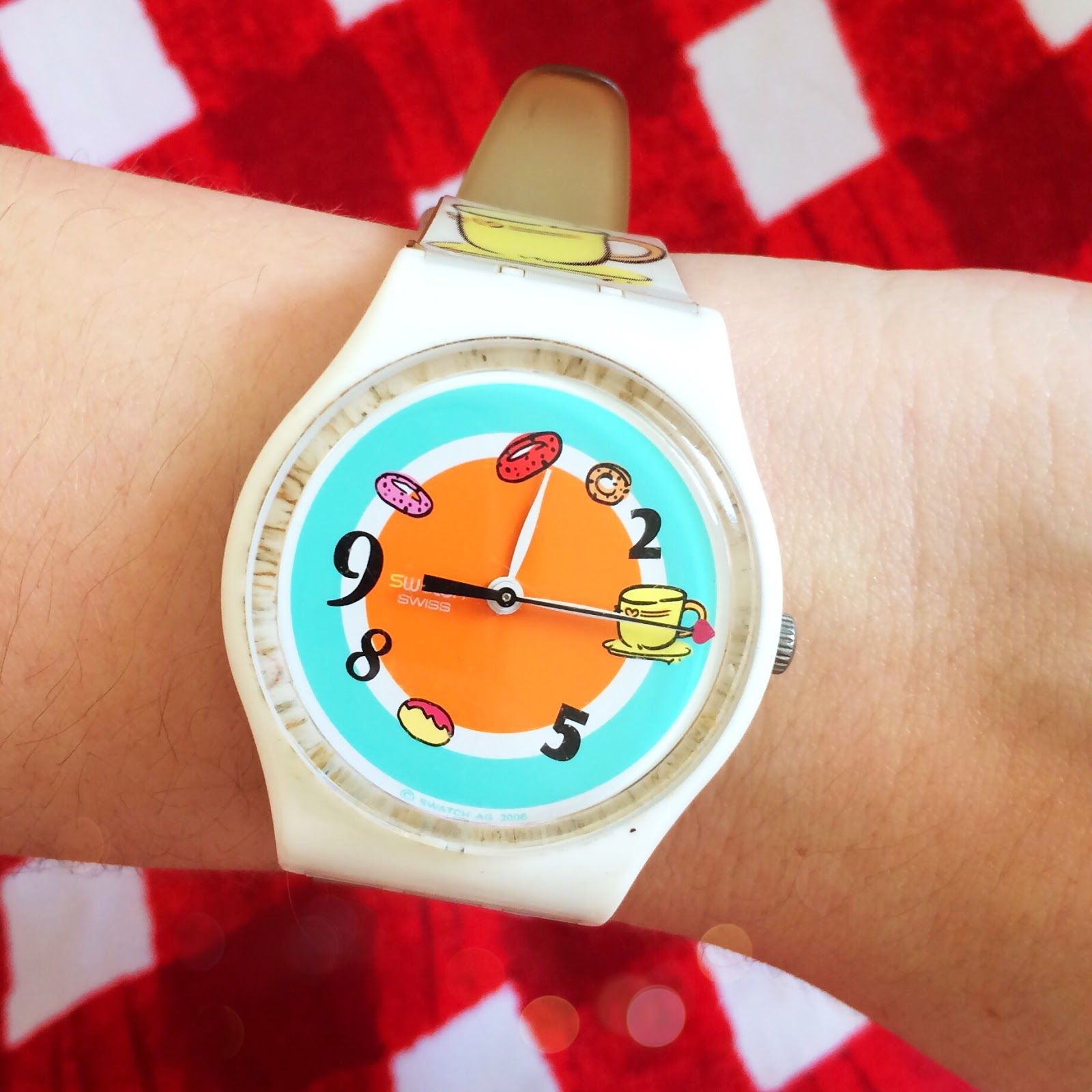 Swatch Watch, Donut Watch