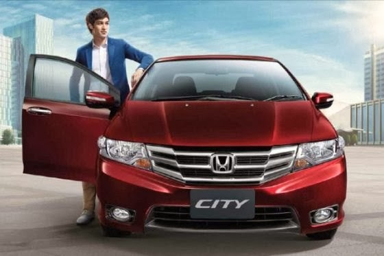 Honda City Facelifted