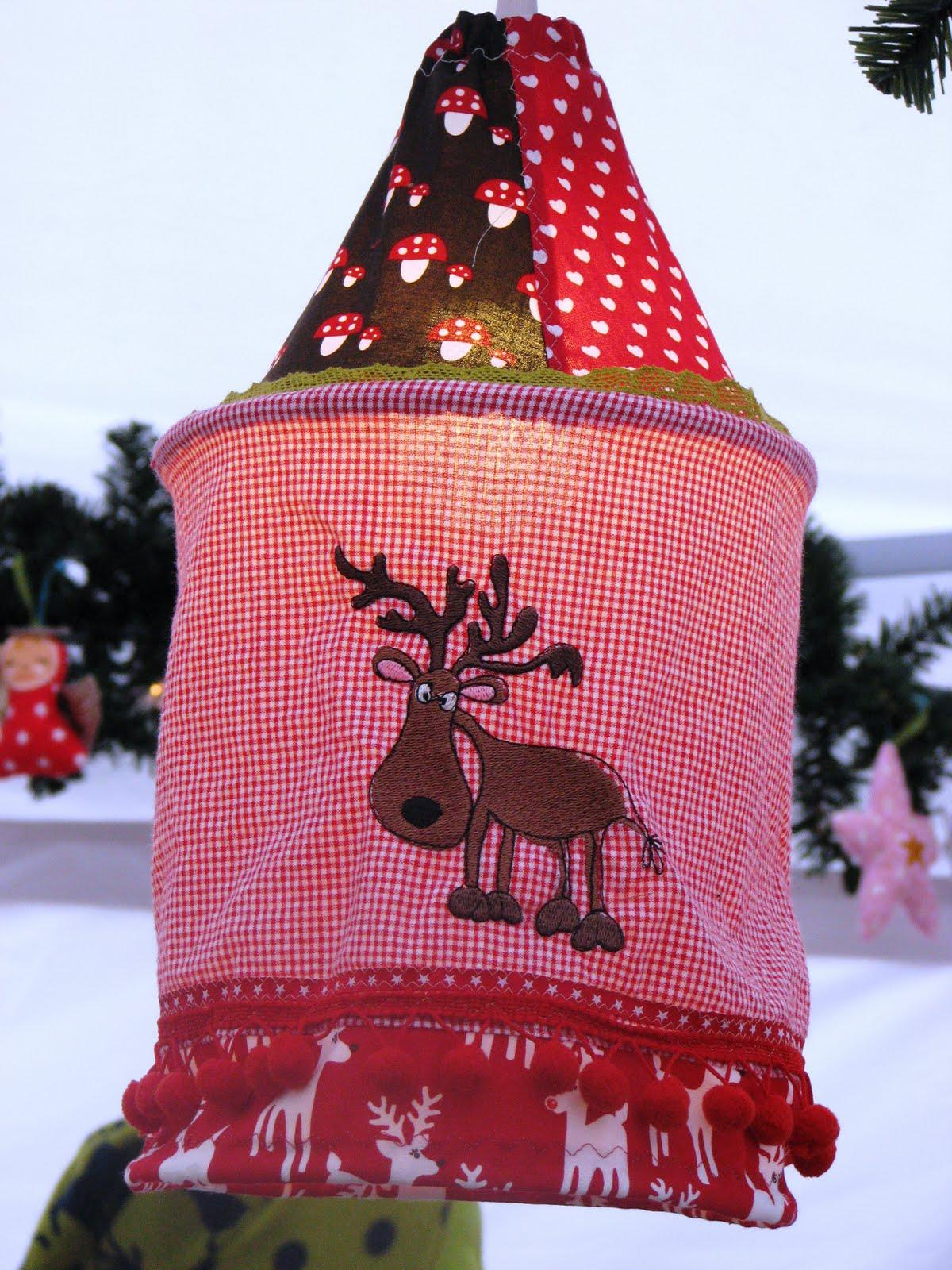fadenzauber weihnachtliche lampen. Black Bedroom Furniture Sets. Home Design Ideas