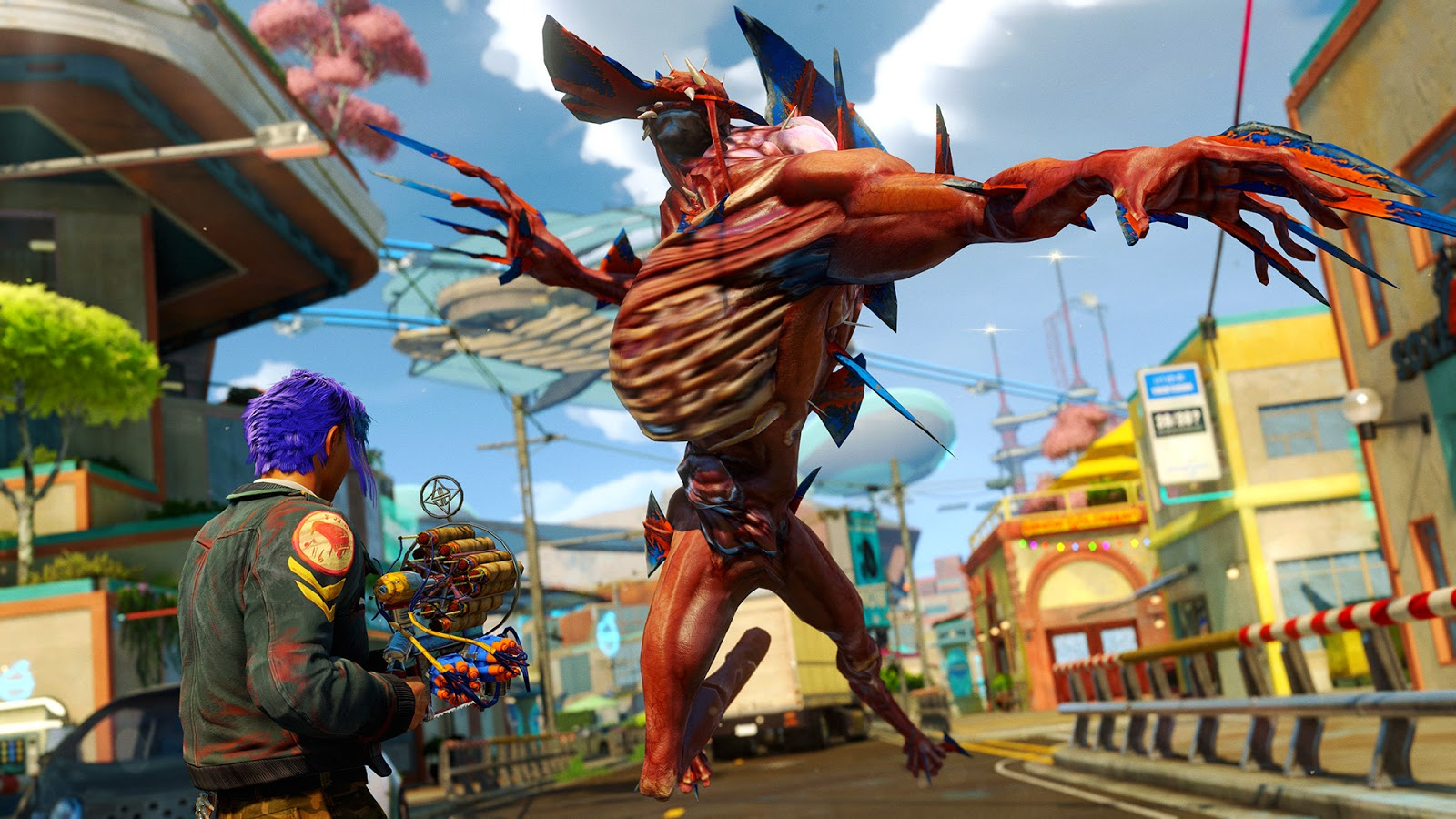 Celebra el primer año del Xbox One con 24 horas gratis de Sunset Overdrive