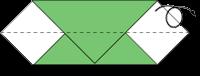 Cara Membuat Origami Ulat