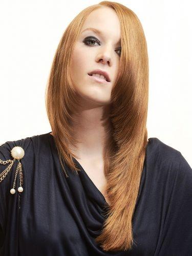 Corte de cabello degradado para mujeres
