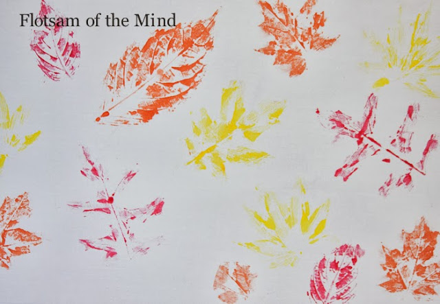 Leaf Prints - Flotsam of the Mind