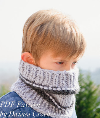 knitting adult cowl pattern