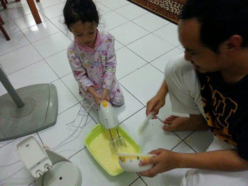 Projek Buat Cheese Cake