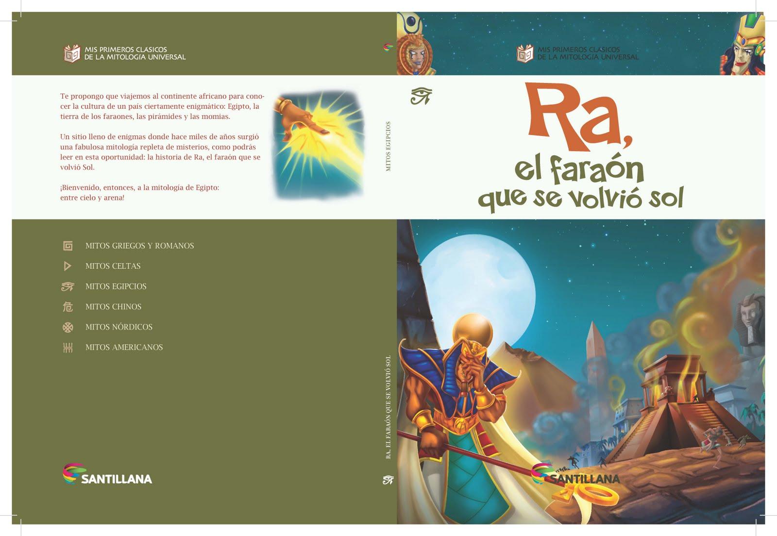 """Colección mitologia diario """"La Nación"""" Santillana"""