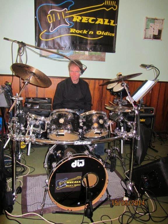 Hanni und seine DW-Drums