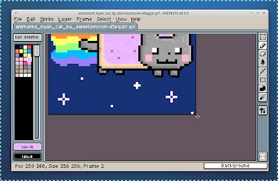 Aseprite Pixel Art Editor Main Window