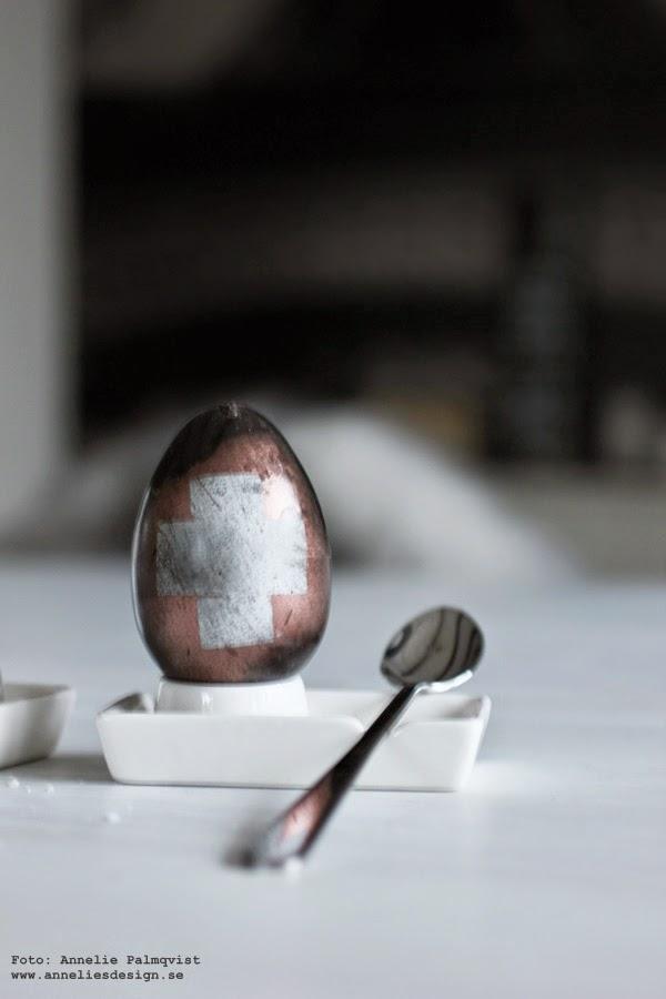 ägg,påskägg, diy påskpyssel, påskpynt, koppar, kors på ägg. ägget, måla ägg, målade ägg, sprayade ägg, spraya ägg, äggen, vitt, påskens, påsk 2015, vita äggkoppar av porslin, porslin, äggkopp, webbutik inredning, interior, webbutik, webshop, inredningsblogg, blogg, pyssla, göra eget påskpyssel, påskpyssla,