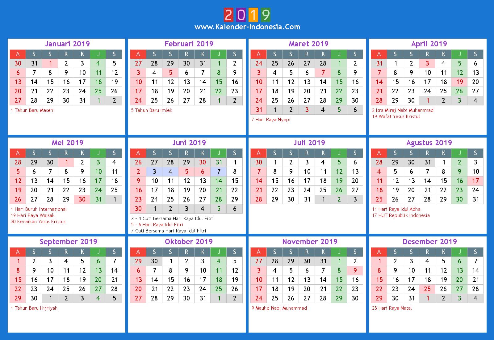 KalenderIndonesiaOnline2019